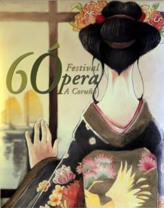 Cartel del 60º festival de ópera de A Coruña
