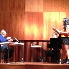 La Temporada inicia sus actividades didácticas con el curso de Albero Zedda