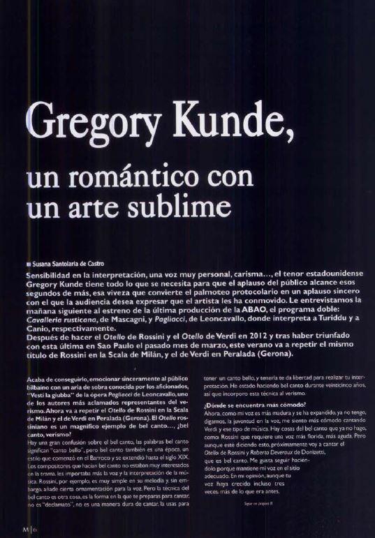 Gregory Kunde