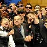El divertido 'selfie' de 'El barbero de Sevilla'