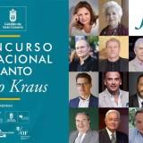 César Wonenburger, jurado en el Concurso Internacional Alfredo Kraus desde el lunes