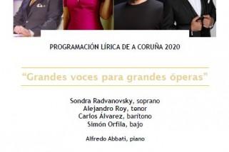 Retrasmisión en directo Grandes voces para grandes óperas